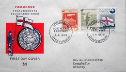 Faroe Islands   1976 Inaugaration Of Post Office Set    MiNr.21-23   FDC   ( Lot 6253  ) MN  COVER