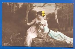 Frau; Femme; Woman; Girl; 1916 Stempel Ungvar - Frauen