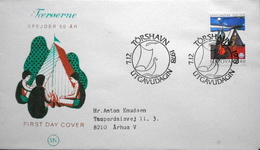 Faroe Islands  1978   Girl Scouts   MiNr.41  FDC   ( Lot  6262 )  MN COVER