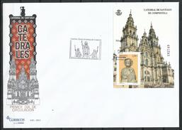 """España_FDC_2012_Catedrales. """"Catedral De Santiago"""" - FDC"""