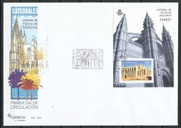 """España_FDC_2012_Catedrales. """"Catedral De Palma De Mallorca"""" - FDC"""