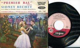 "Sidney Bechet""EP Vinyle""Premier Bal"" - Jazz"