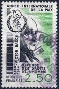 2415  VICTOR BASCH OBLITERE ANNEE 1986 - Frankreich