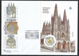 """España_FDC_2012_Patrimonio Mundial. Catedral De Burgos"""" - FDC"""