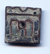 Applique De Châsse Limousine émaillée XIIIè - Arqueología