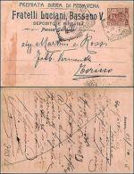 Premiata Birra Di Pedavena, F.lli Luciani, Bassano V. Viag1906, Ottimo Stato - Pubblicitari