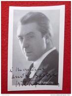 AUTOGRAPHE  VICTOR FRANCEN - Autographs