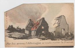 Par Les Armes L'Allemagne A Voulu Ruiner La France, Par Le Bolchévisme L'Allemagne Voudrait Anéantir ................... - Documents