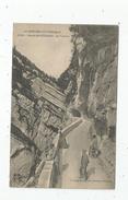Cp , 38 , Le VERCORS , Route Des ECOGES , Un Tunnel , Voyagée 1909 - Autres Communes