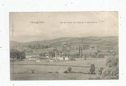 Cp , 71 , CHAUFFAILLES , Vue De L'usine Du Château Et MONTCHERIE , Voyagée 1905 - France