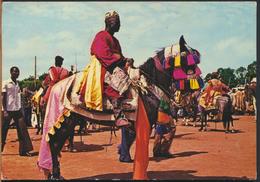 °°° 1190 - CAMERUN - N'GAOUNDERE - UN NOTABLE DE LAMIDO - 1978 With Stamps °°° - Camerun