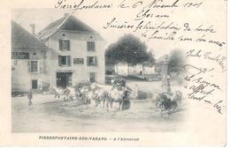 25 - PIERREFONTAINE - LES- VARANS A L'ABREUVOIR . - France