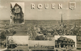 ROUEN - Carte Multi-vues. - Rouen