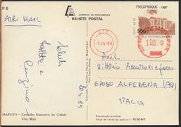 °°° 1192 - MOCAMBIQUE - MAPUTO - CONSELHO EXECUTIVO DA CIDADE - 1989 °°° - Mozambico