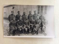 WWII.  YUGOSLAVIAN  OFFICERS IN PRISONERS CAMP  WARBURG  GERMANY    1941. - Weltkrieg 1939-45