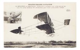 AVIATION - PETROWSKI  Sur Biplan SOMMER  - Semaine De L' Aviation   - MA 3358 - Aviatori