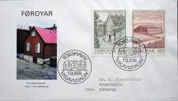Faroe Islands  1978  MiNr.39-40  FDC    ( Lot  6063  )