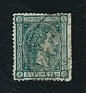 SPAGNA 1875 - Alfonso XII - 4 Pta. - Edi:ES 170 - 1875-1882 Regno: Alfonso XII