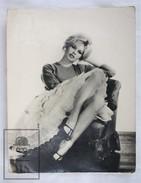 1950's Vintage Real Photo Cinema Film Actress: Brigitte Bardot By Sam Lévin, Editions P.I. Paris. 17.5 X 14 Cm - Fotos