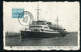 "Belgique - Carte Maximum 1949 ,  Bateau La Malle "" Prince Albert "" - 1934-1951"