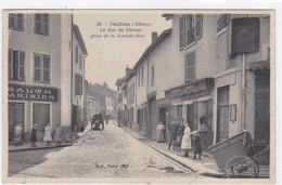Rhône - Oullins - La Rue Du Perron Prise De La Grande-Rue - Oullins