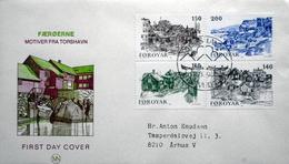 Faroe Islands  1981   MiNr.59-62    Old Torshavn      FDC   ( Lot  6111)  MN COVER