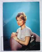 1950's Vintage Real Photo Cinema Film Actress: Annette Vadim By Sam Lévin, Editions P.I. Paris. 17.5 X 23.5 Cm - Fotos
