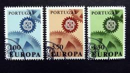 Portugal 1026/8 Oo/ESST, EUROPA/CEPT 1967