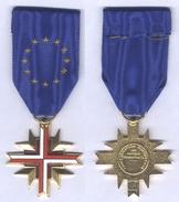 Médaille De La Confédération Européenne Des Anciens Combattants - France