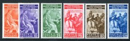 1935 Congress Set, Sass 41/46, (S.10), Very Fine Mint (6 Stamps) For More Images, Please Visit...
