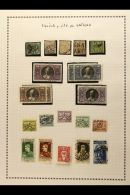 1929-1988 MINT AND USED COLLECTION Starts With A Range Of 1852-70 Papal States Issues, Then Continues With Vatican...