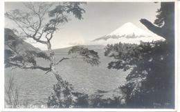 LAGO ESMERALDA Y VOLCAN OSORNO TARJETA POSTAL EDITOR MORA CIRCA 1940 DOS DIVISE UNCIRCULATED CHILE CHILI - Chili