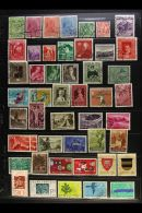 1917-1993 ALL DIFFERENT COLLECTION Presented Chronologically On A Series Of Double Sided Stock Pages. An...