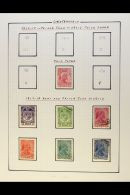 1912-72 INTERESTING ALL DIFFERENT COLLECTION A Mint & Used Collection That Includes Perforation Variants,...