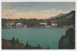 Bled, Hotel Malnar In Toplice (Knjigarna Hočevar) Postcard Travelled 1925 B170301 - Slovenia