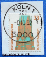 GERMANY FREIMARKEN CITIES AND PLACES SCHLESWIGER DOM 33 Pf.1989 Mic.1399 - USED