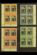 1899-1903 1p Blue & Black, 5p Orange & Black, 10p Green & Black And 20p Red & Black 'Liberty...
