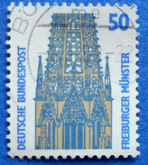GERMANY FREIMARKEN CITIES AND PLACES FREIBURGER MUNSTER 50 Pf.1987 Mic.1340 A - USED