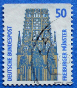 GERMANY FREIMARKEN CITIES AND PLACES FREIBURGER MUNSTER 50 Pf.1989 Mic.1340 C - USED
