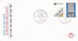 Netherlands  1985 FDC Europa CEPT  - European Music Year  (T10-5) - Europa-CEPT