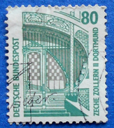 GERMANY FREIMARKEN CITIES AND PLACES ZECHE ZOLLERN II DORTMUND 80 Pf.1987 Mic.1342 A - USED
