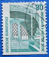 GERMANY FREIMARKEN CITIES AND PLACES ZECHE ZOLLERN II DORTMUND 80 Pf.1989 Mic.1342 D - USED