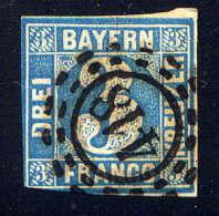 BAVIERE - 2° - CHIFFRE - Bavière