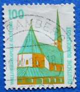 GERMANY FREIMARKEN CITIES AND PLACES WALLFAHRTSKAPELLE ALTOTTING 100 Pf.1989 Mic.1406 A - USED