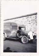 """26146 Photo Camion """"teinturerie Rennes """" -1936 -Rennes 35 - Automobile  """"la Lolo De Tonton """" - Automobiles"""