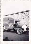 """26146 Photo Camion """"teinturerie Rennes """" -1936 -Rennes 35 - Automobile  """"la Lolo De Tonton """""""