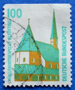 GERMANY FREIMARKEN CITIES AND PLACES WALLFAHRTSKAPELLE ALTOTTING 100 Pf.1989 Mic.1406 C - USED