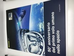Folder Primo Sbarco Umano Nello Spazio 2011 - 6. 1946-.. Republic