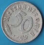 DEUTSCHES REICH 50 REICHSPFENNIG 1942 F  Svastika - [ 4] 1933-1945 : Third Reich