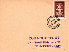 787 JAMBOREE DE LA PAIX 1947 En FDC - ....-1949